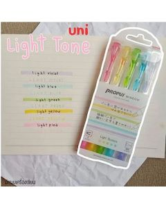 Uni Propus Window Highlighter Dual Tip 1 pcs - Light Color Series