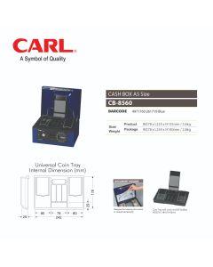 "CASH BOX 11""(278MM) - KEY LOCK W/PASSWORD DIAL CB-8560"