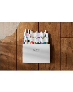 Uni Emott Ever Fine Water-Based Pen 40pcs Set