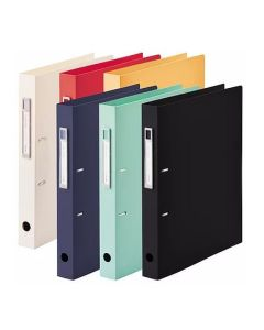 Lihit Lab Noie-Style A4 D-Ring Document Holder F7684