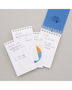 Lihit Lab Aqua Drops Twist Notebook 8 Holes N1661