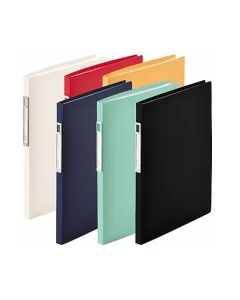 Lihit Lab Noie-Style Clear Book A4 (20 pockets) N7678