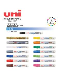 Uni PX-21 PAINT MARKER Fine 0.8mm-1.2mm 1pc