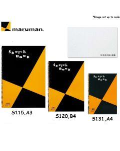 maruman Zuan Series Sketch Book (A3/S115, B4/S120, A4/S131)