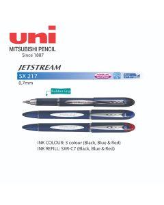 Uni JETSTREAM Roller Ball Pen 0.7mm SX 217