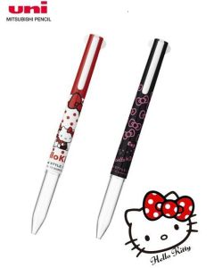 Uni Style Fit Hello Kitty 3 Color Multi Pen Body UE3H-258SR