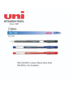 Uni-ball Signo Roller Gel Pen 0.5mm UM-100