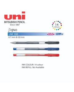 Uni-ball Signo Roller Gel Pen 0.7mm UM-100