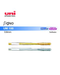 Uni-ball Signo Roller Gel Pen 0.8mm UM-100