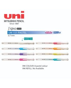 Uni-Ball Signo DX Gel Roller Pen Pastel Color 0.7mm UM 151
