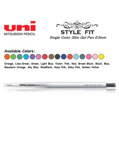 Uni Style Fit 1 Color Gel Pen 0.5mm  UMN-139 (Series A)