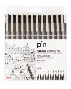 Uni Pin Water-based Marker 12PCS Set PIN 200-12P
