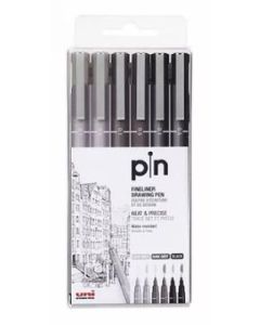 Uni Pin Water-based Marker 6PCS Set PIN 200-6P